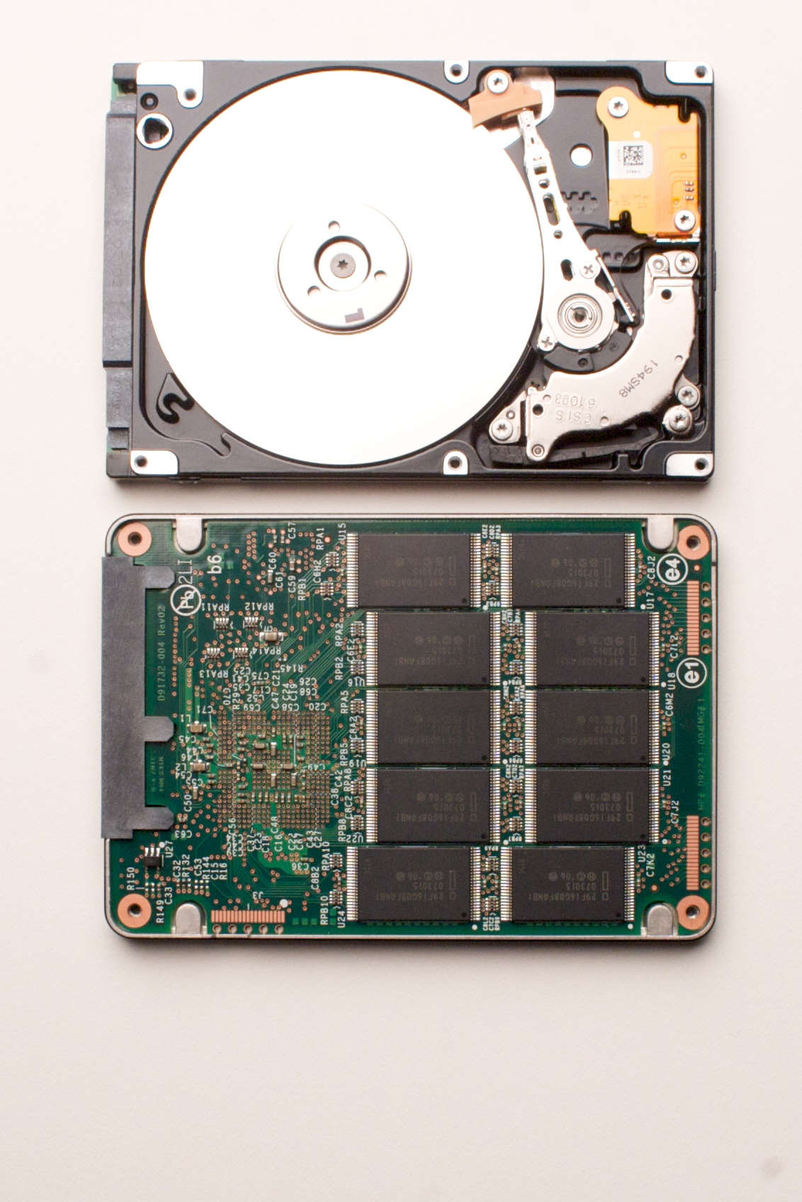 how to get a new hard drive to work