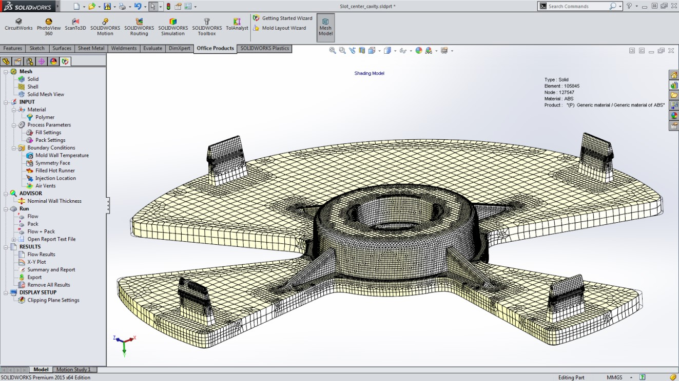 Top 5 Solidworks Plastics 2015 Features Circuit Wizard Is A Revolutionary New System That Combines Non Orthogonal Voxel Mesh Can Increase Accuracy