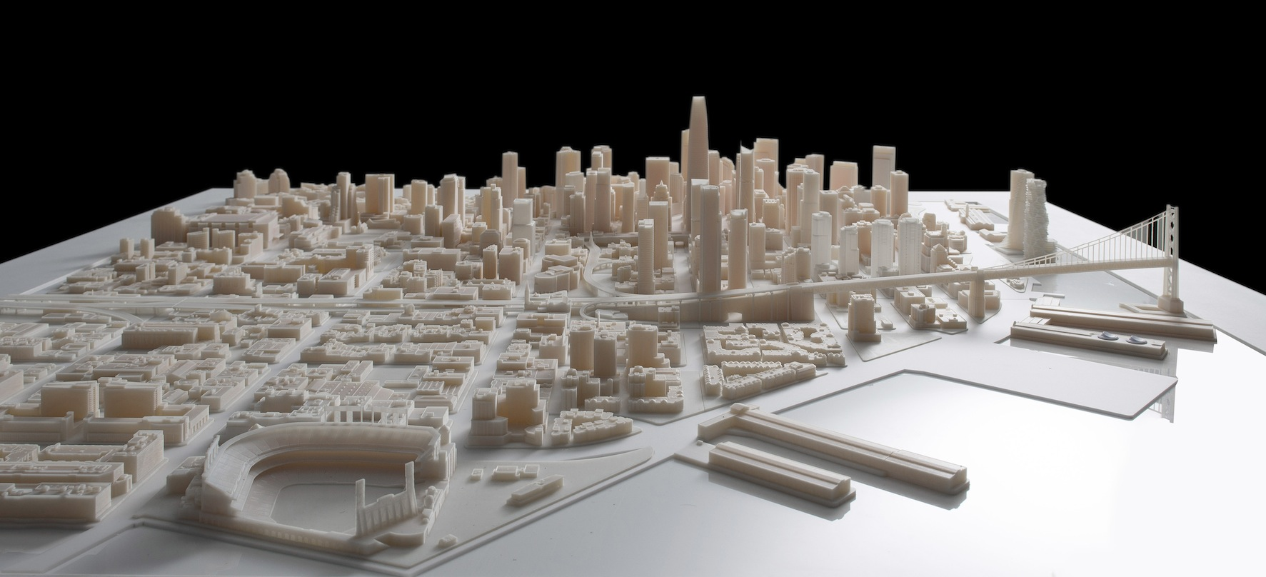 See San Francisco All In White Thanks To Autodesk: making models for 3d printing