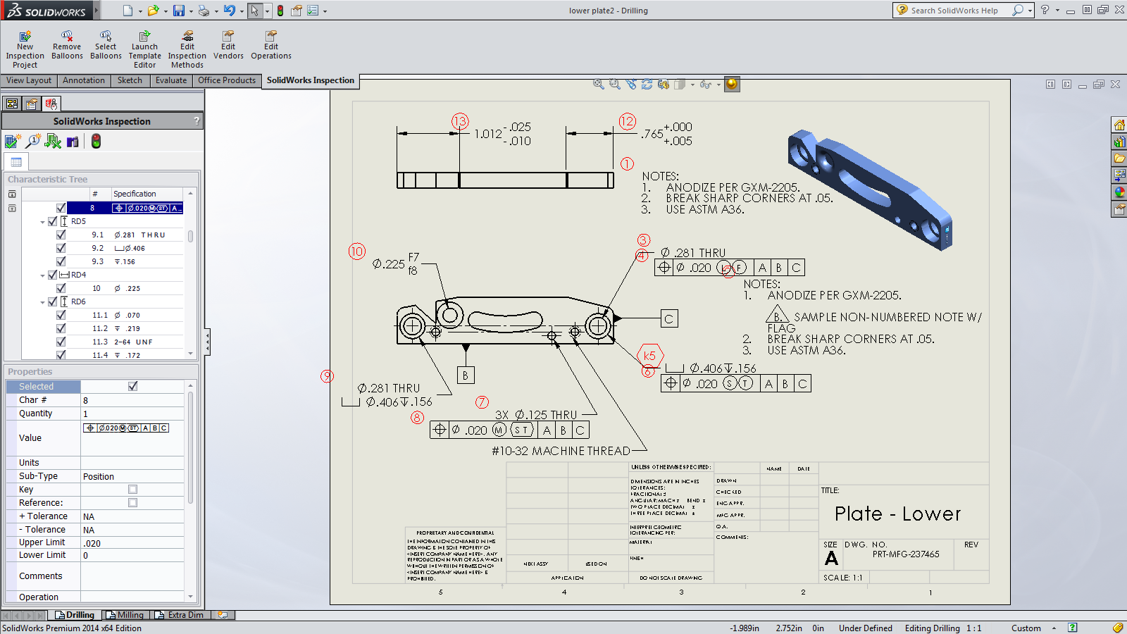 Save time on the middleman with solidworks inspection engineering everyone inspects baditri Gallery