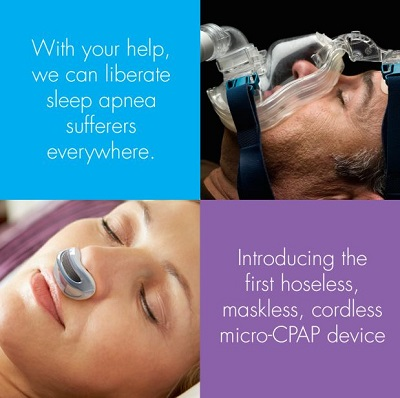 Airing - Hoseless Cordless Maskless CPAP Device ...