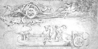 Leonardo Da Vinci Sketches Of Submarine
