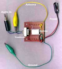 AM Voice Transmitter