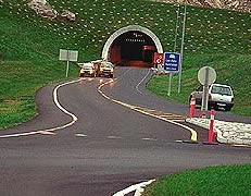 Laerdal Tunnel Entrance