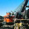 Trucks and Shovels Pre-Stripping Overburden
