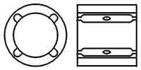 Multiple Groove Bearings