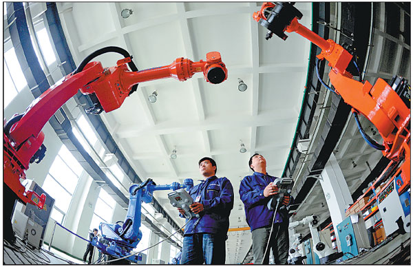 Could Next Gen Industrial Robots Be Made In China