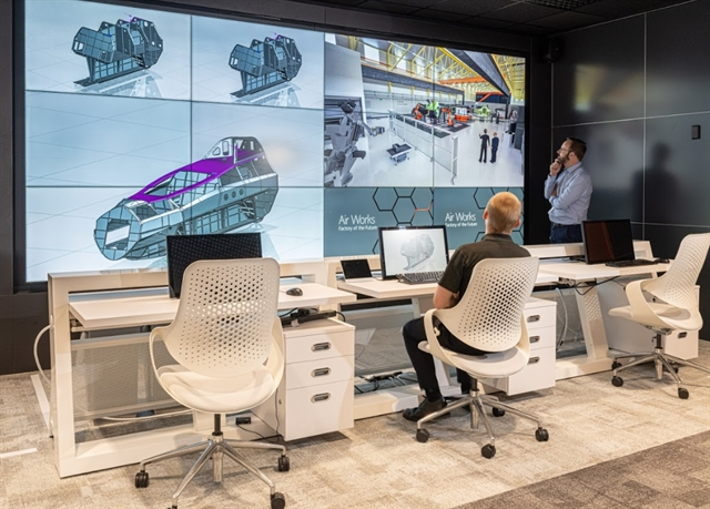 Combat Aircraft Production Gets Smart in the UK