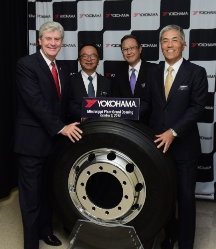 yokohama opens   million tire plant  mississippi engineeringcom