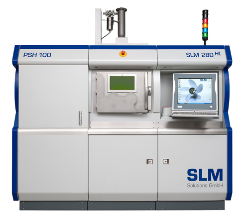 Slm Solutions Presents Latest Generation Of Selective