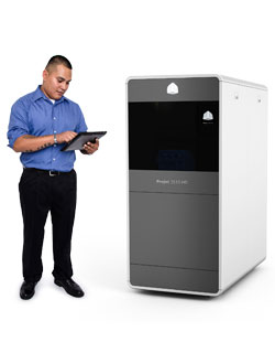 3d Systems Releases Eight New Projet 3500 3d Printers