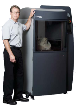 3d Systems Introduces Projet 7000 Production 3d Printer