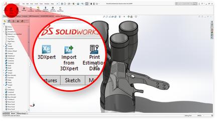 3D Systems Announces 3DXpert for SOLIDWORKS 15
