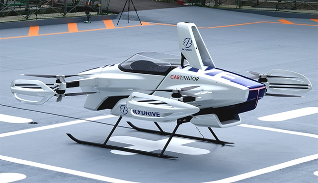 SkyDrive Aiming for Flying Taxi Services in 2023 - ENGINEERING.com
