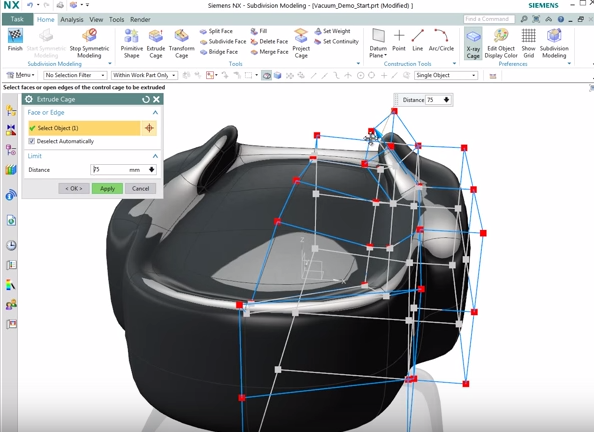 Siemens NX 10 Surface Design: A Step by Step Guide