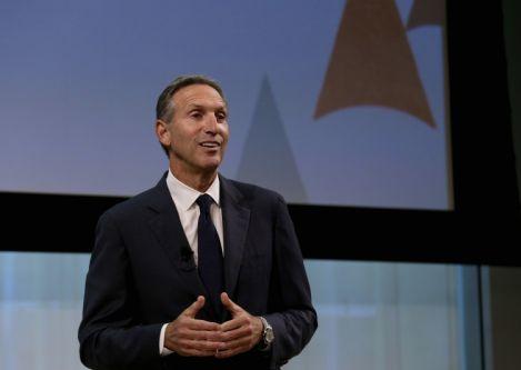 Starbucks and Howard Schultz Recognized for Leadership