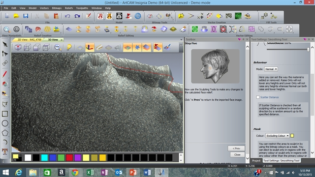 Let's Face It: ArtCAM Insignia 3D Model from a Photo
