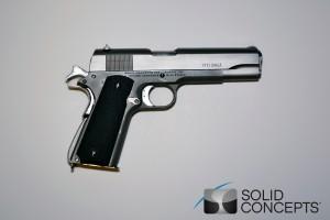 Solid Concepts Printed Metal Gun On Sale Gt Engineering Com