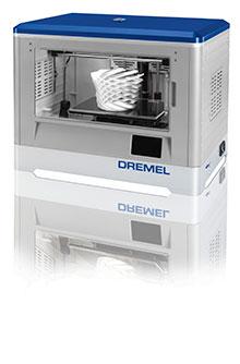 dremel introduces its own 3d printer. Black Bedroom Furniture Sets. Home Design Ideas