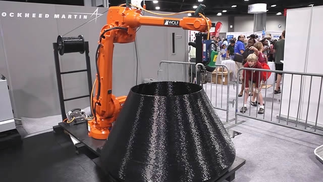 Lockheed Martin S Nanotechnology And 3d Printing Robot Arm