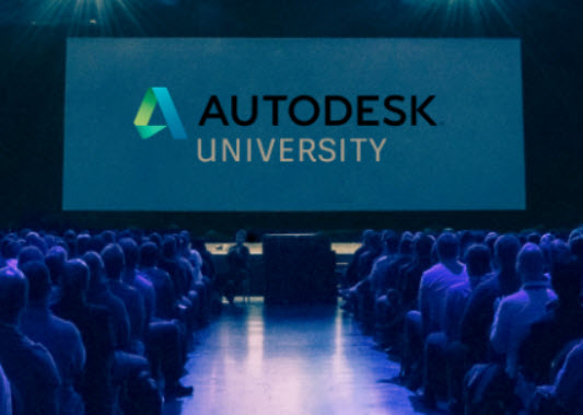 Advertisement Autodesk University Find Your Place In The