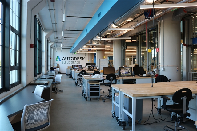 Autodesk 39 s build space opens its doors for innovation in for Aec architecture engineering construction