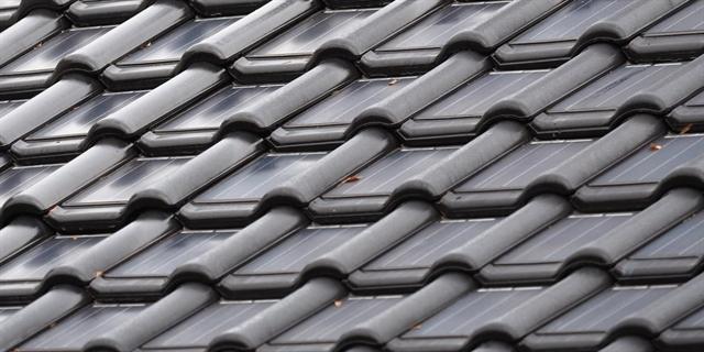 integrating solar cells into ceramic roof tiles. Black Bedroom Furniture Sets. Home Design Ideas