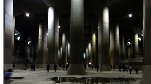 Tokyo S Cavernous Flood Protection System Gt Engineering Com