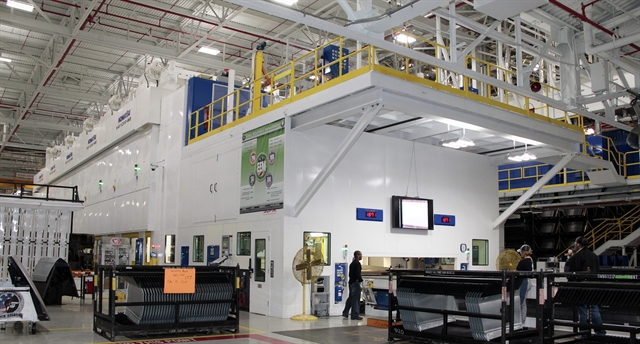 Fca Updates Michigan Facility With New Stamping Press