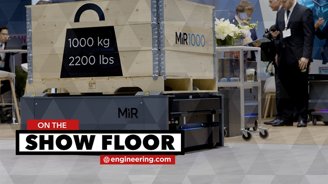 This Mobile Robot Lifts a Metric Ton Payload