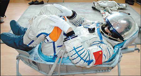 chinese astronauts take flight with 3d printed seats. Black Bedroom Furniture Sets. Home Design Ideas