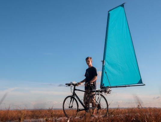 Cyclewing Adds A Sail And Propulsion To Bicycles Engineering Com