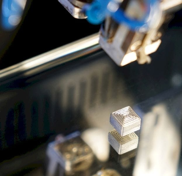 "Fraunhofer Institute Develops ""Hard"" Metal 3D Printing Filament"