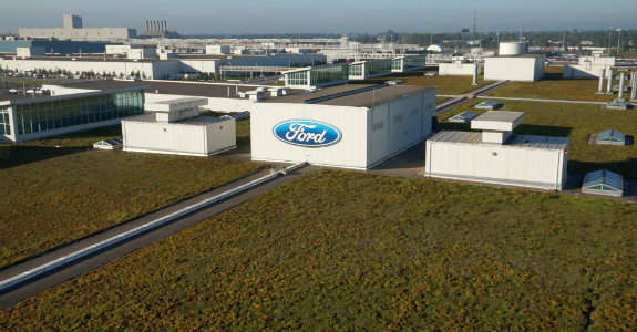 Ford celebrates 10 years of sustainable manufacturing at for Ford motor company jobs dearborn mi