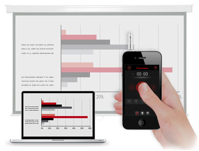 Turn your iPhone into a Laser Pointer and Mobile Presenter