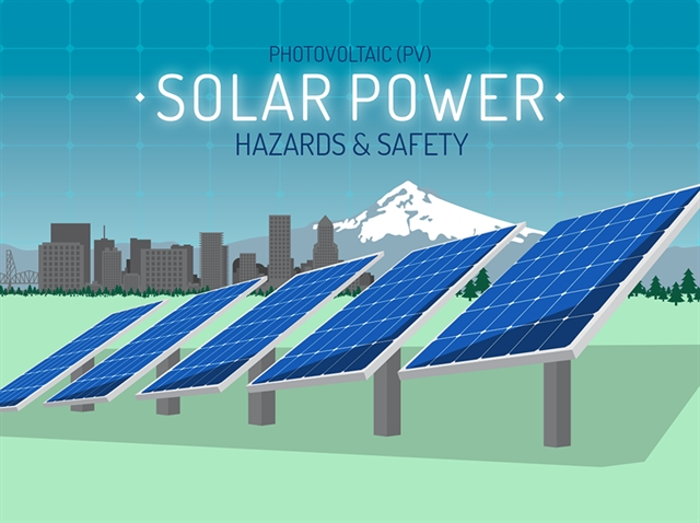 Infographic Solar Power Hazards And Safety Gt Engineering Com