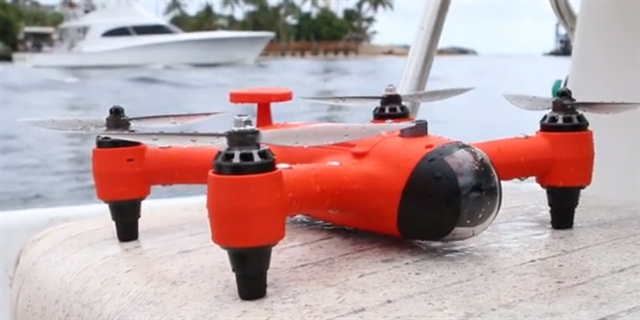 SwellPro Offers a New Drone Able to Swim or Fly