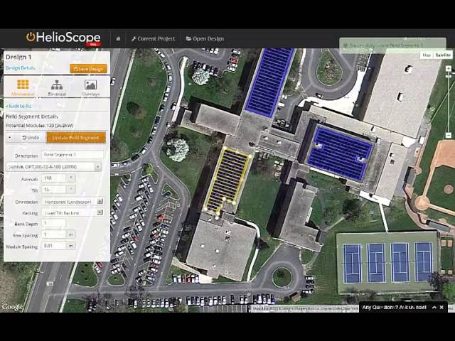 Helioscope An Integrated Photovoltaic Design Tool